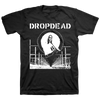 "Dropdead ""Mary: White"" Black T-Shirt"