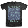 "Harm's Way ""Blinded"" Black T-Shirt"