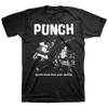 "Punch ""Worth More Than Your Opinion"" Black T-Shirt"