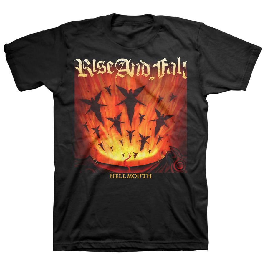 "Rise And Fall ""Hellmouth"" Black T-Shirt"
