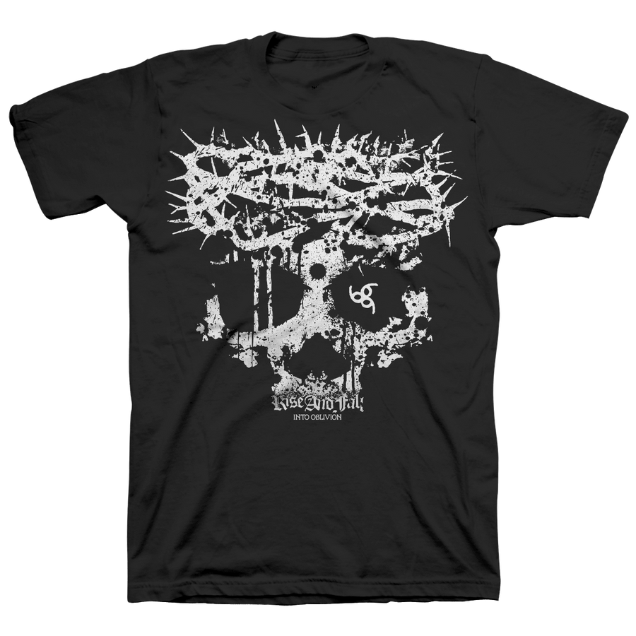 "Rise And Fall ""Into Oblivion"" Black T-Shirt"