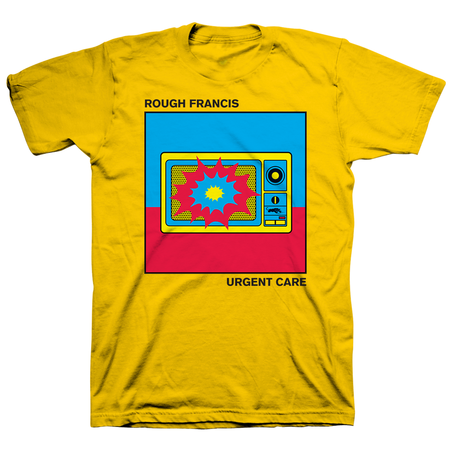 "Rough Francis ""Urgent Care"" Yellow T-Shirt"