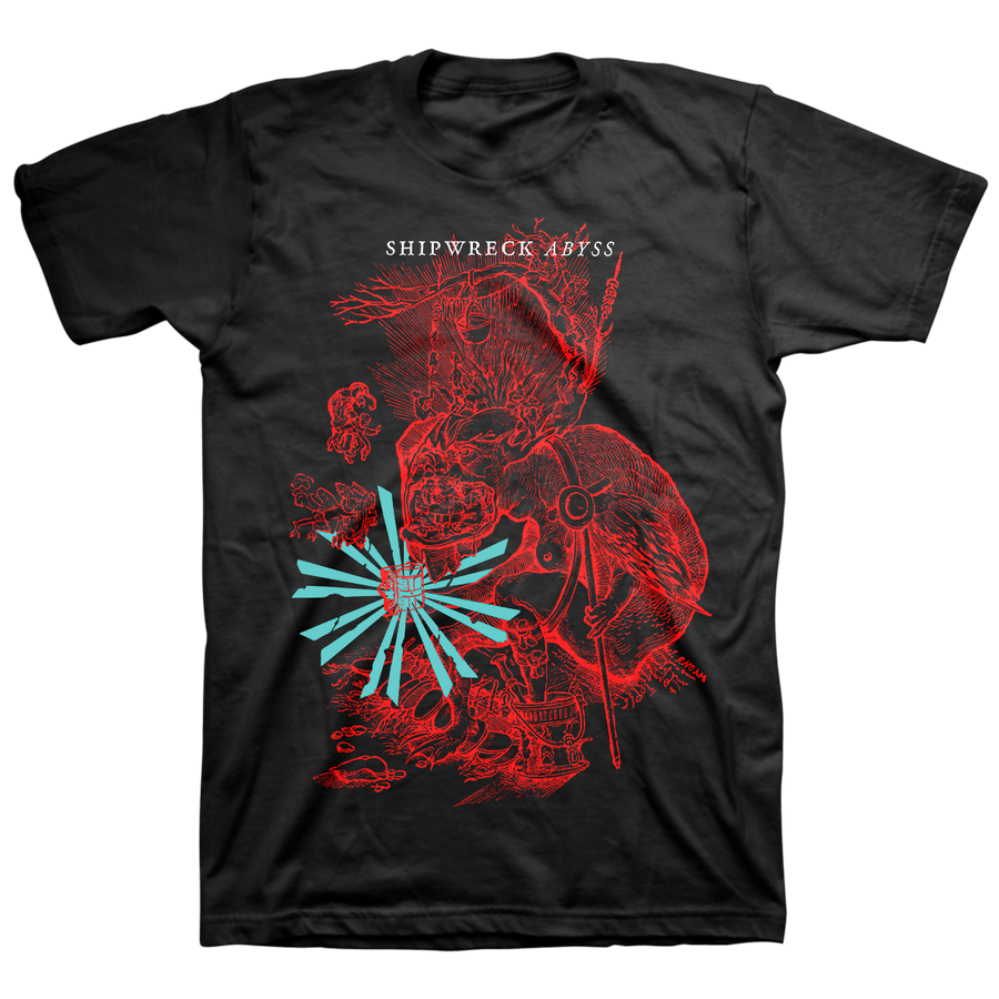 "Shipwreck AD ""Hellmouth"" Black T-Shirt"
