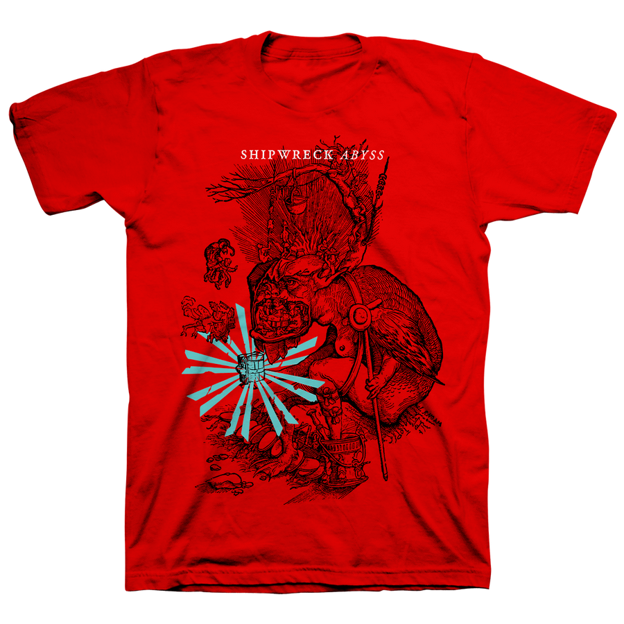 "Shipwreck AD ""Hellmouth"" Red T-Shirt"