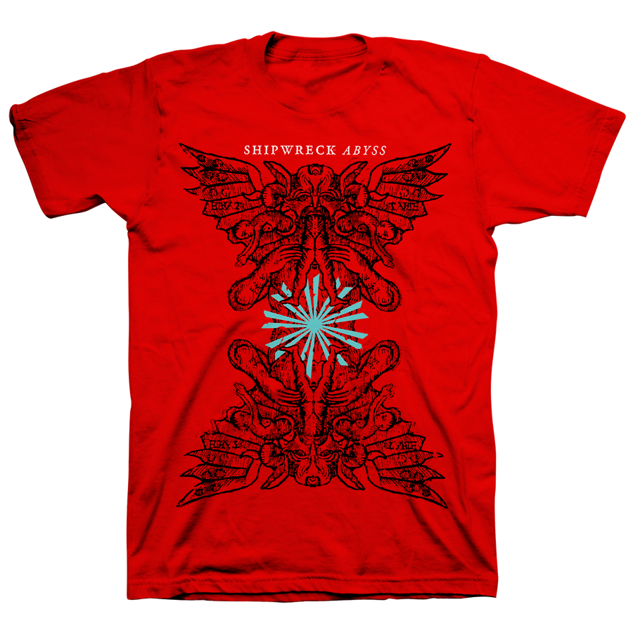 "Shipwreck AD ""Sacrifice"" Red T-Shirt"