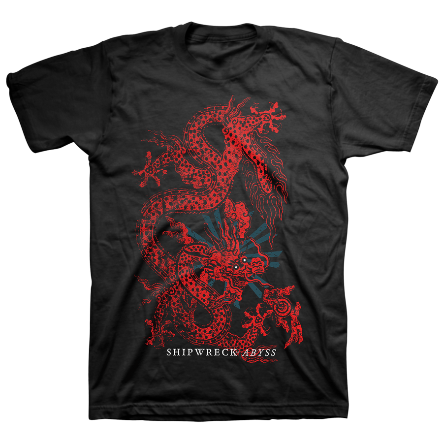 "Shipwreck AD ""Dragon"" Black T-Shirt"