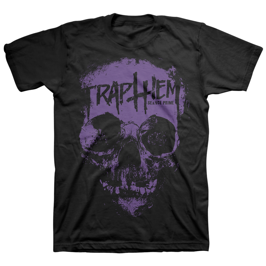 "Trap Them ""Seance Prime: Purple"" Black T-Shirt"