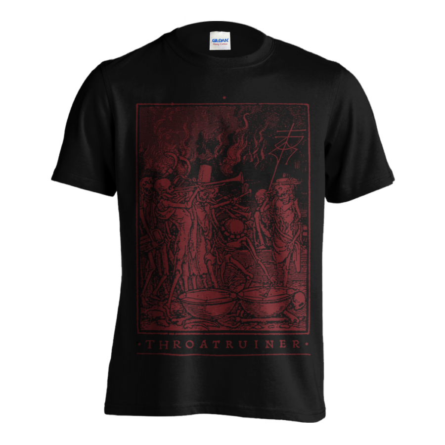 "Throatruiner ""Totentanz"" Black T-Shirt"