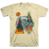 "Thomas Hooper ""Temple Antenna"" Natural White T-Shirt"
