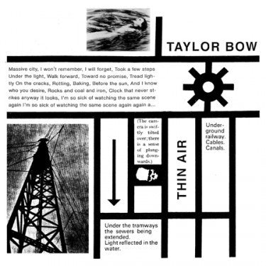 "Taylor Bow ""Thin Air"""