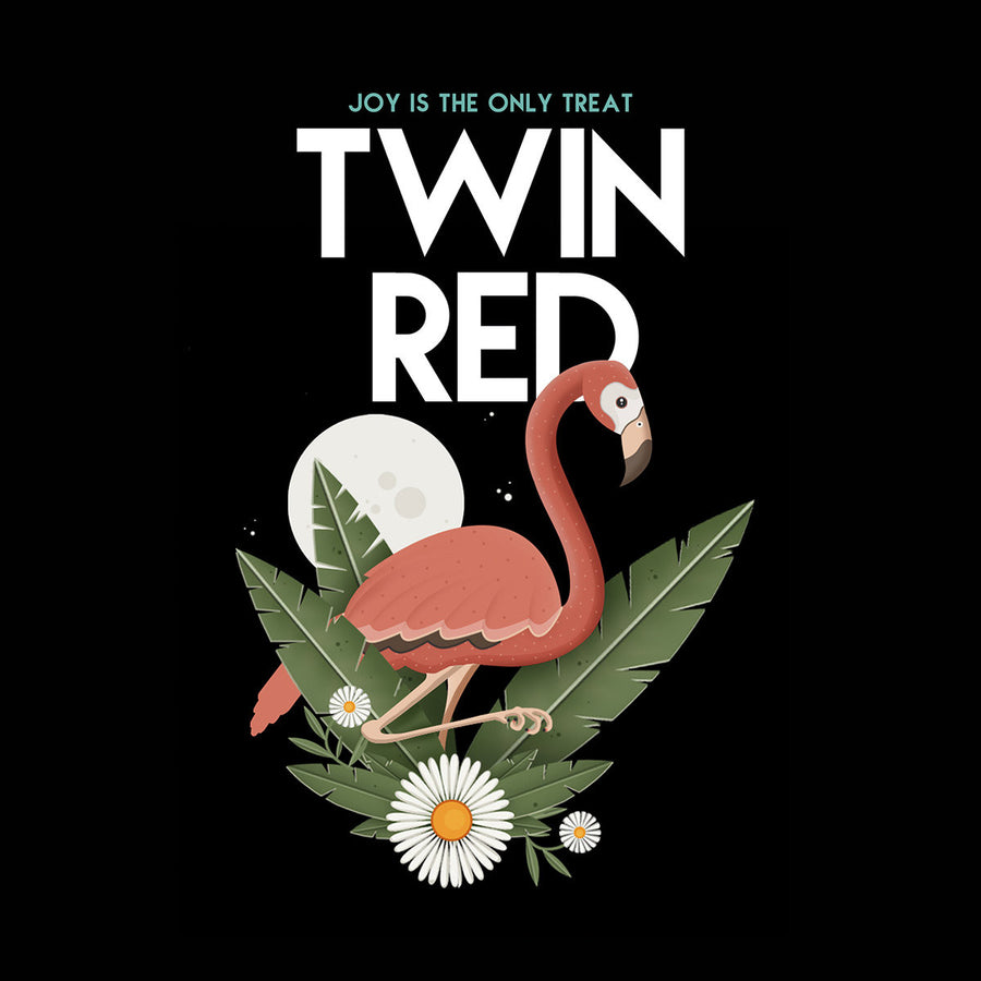 "Twin Red ""Joy Is The Only Treat"""