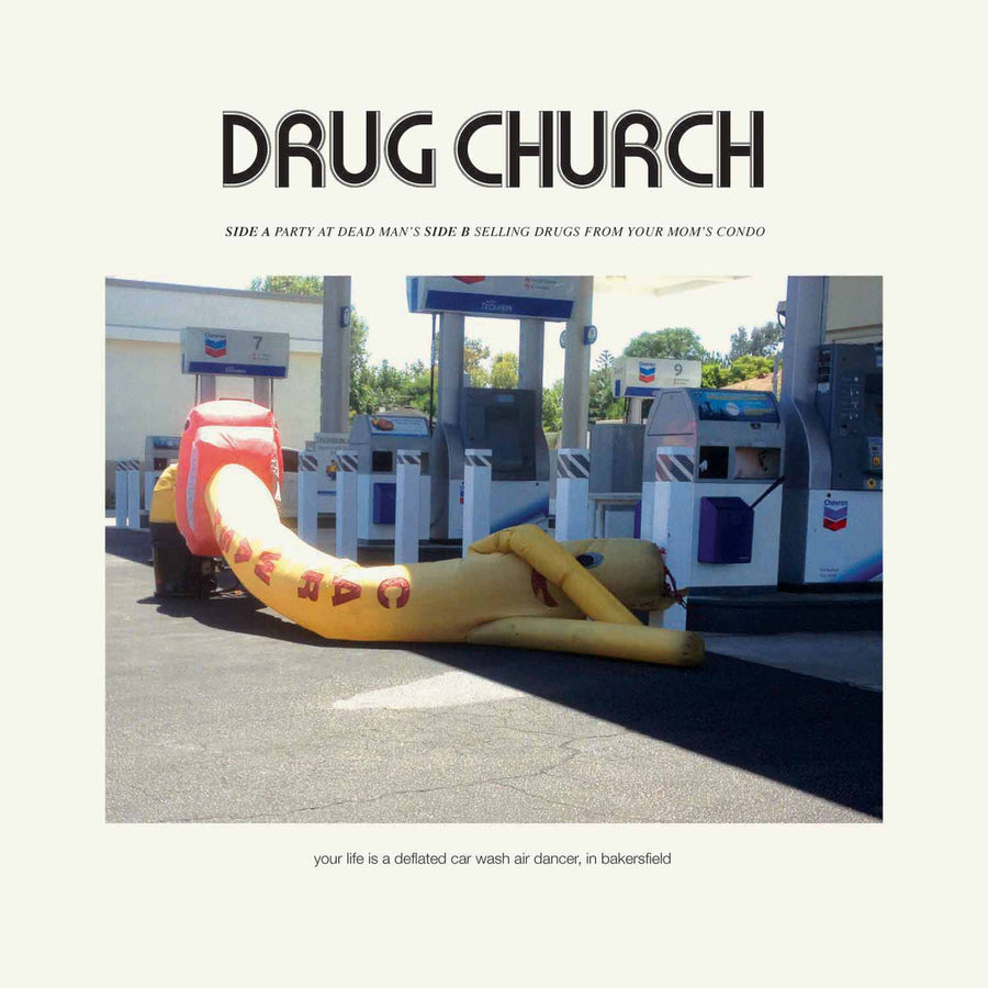 "Drug Church ""Party At Dead Man's b/w Selling Drugs From Your Mom's Condo"""