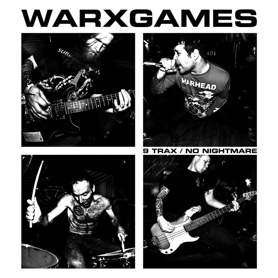 "Warxgames ""9 Trax / No Nightmare"""
