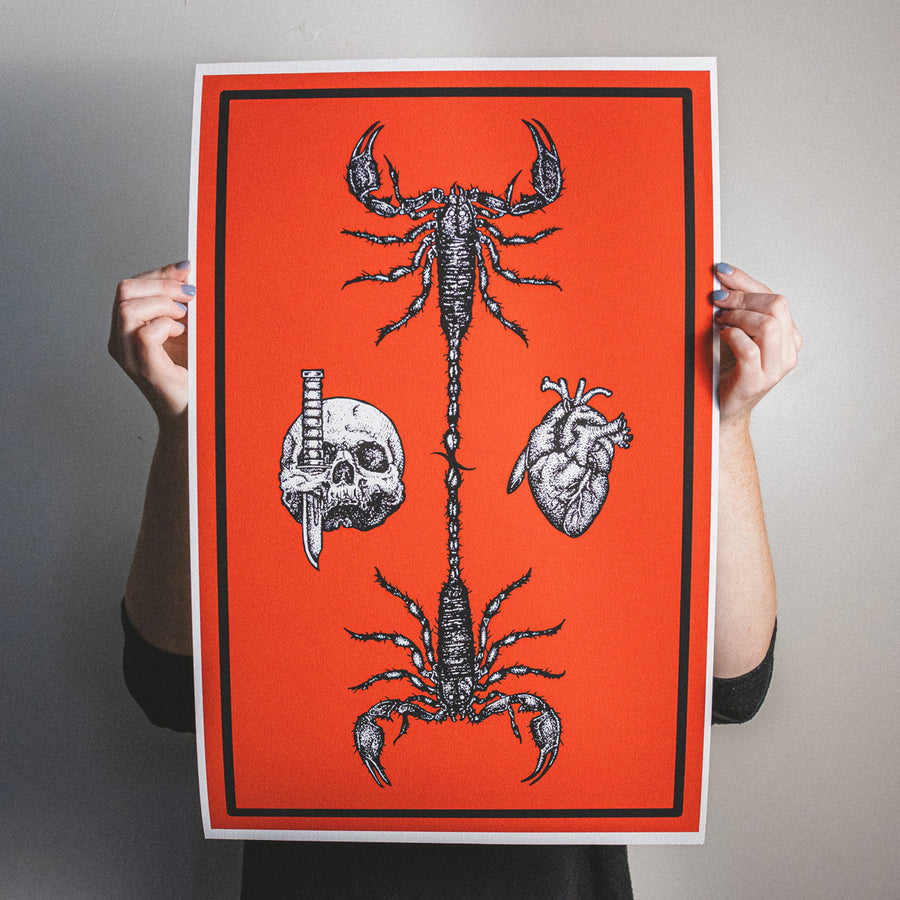"Anthony Lucero ""Scorpion"" Giclee Print"