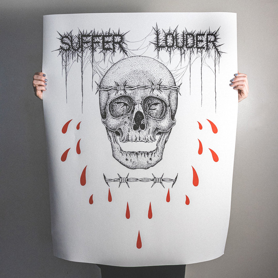 "Anthony Lucero ""Suffer Louder"" Giclee Print"