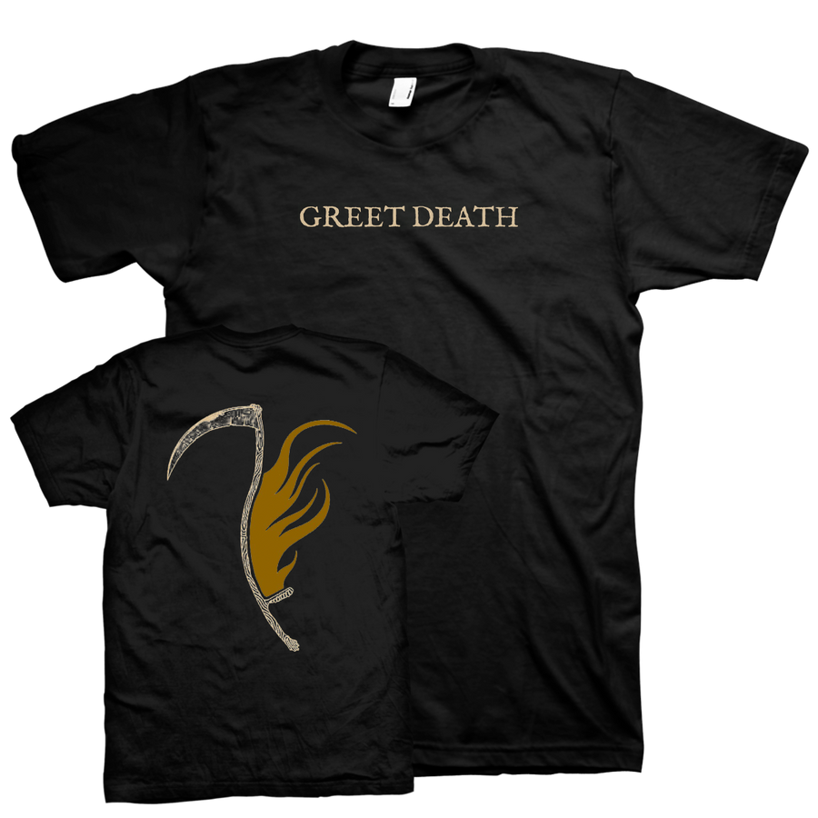 "Greet Death ""Axe"" Black T-Shirt"