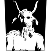 "Cursed ""He-Goat"" Back Patch"