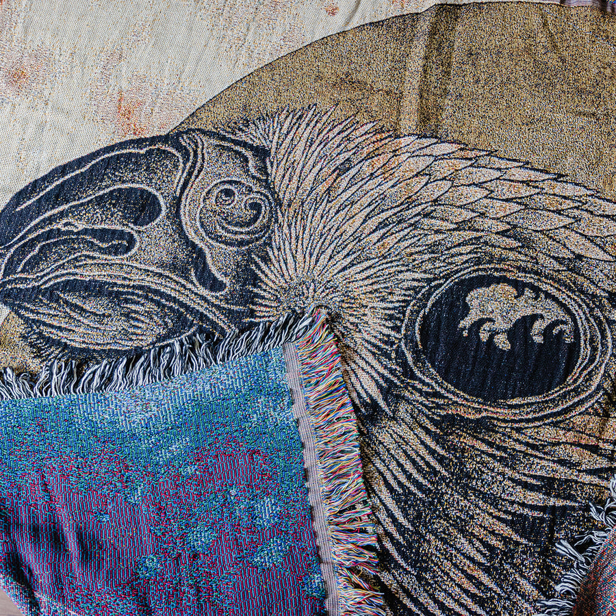 "Thomas Hooper ""Falcon Embrace"" Blanket"