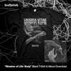 "Umbra Vitae ""Body"" Black T-Shirt + Download"