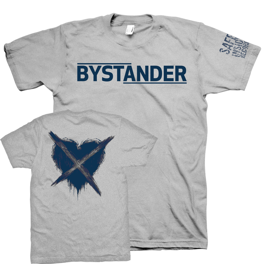 "Bystander ""Where Did We Go Wrong"" Grey T-Shirt"
