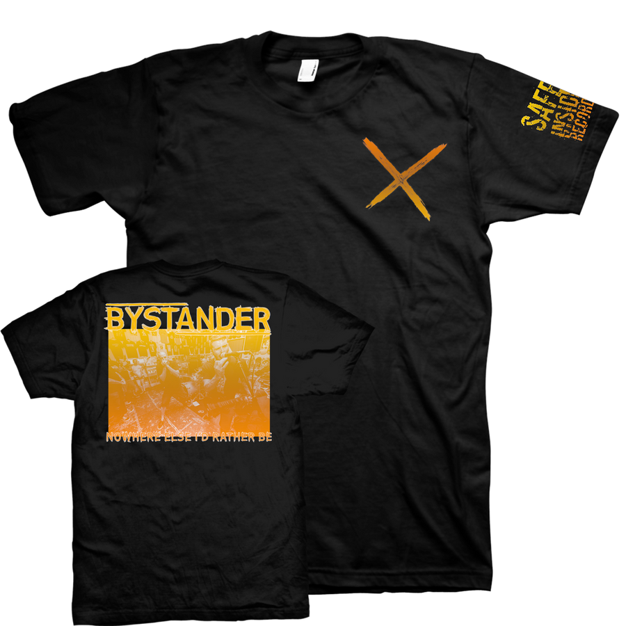 "Bystander ""Nowhere Else"" Black T-Shirt"