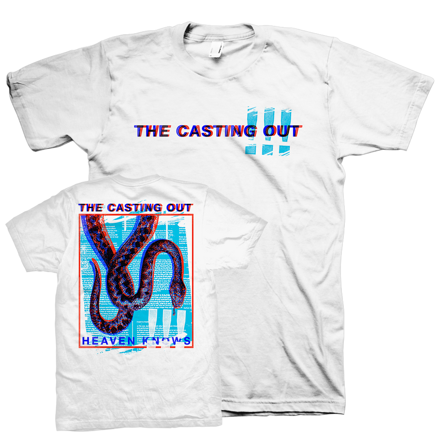 "The Casting Out ""Heaven Knows"" White T-Shirt"