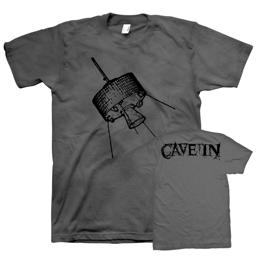 "Cave In ""Satellite"" Grey T-Shirt"