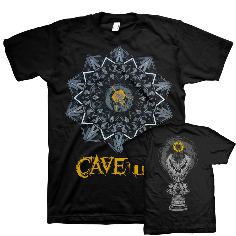 "Cave In ""Yellow Logo"" Black T-Shirt"