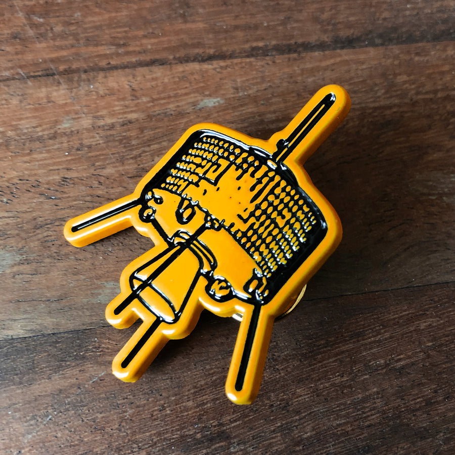 "Cave In ""Satellite"" Enamel Pin"