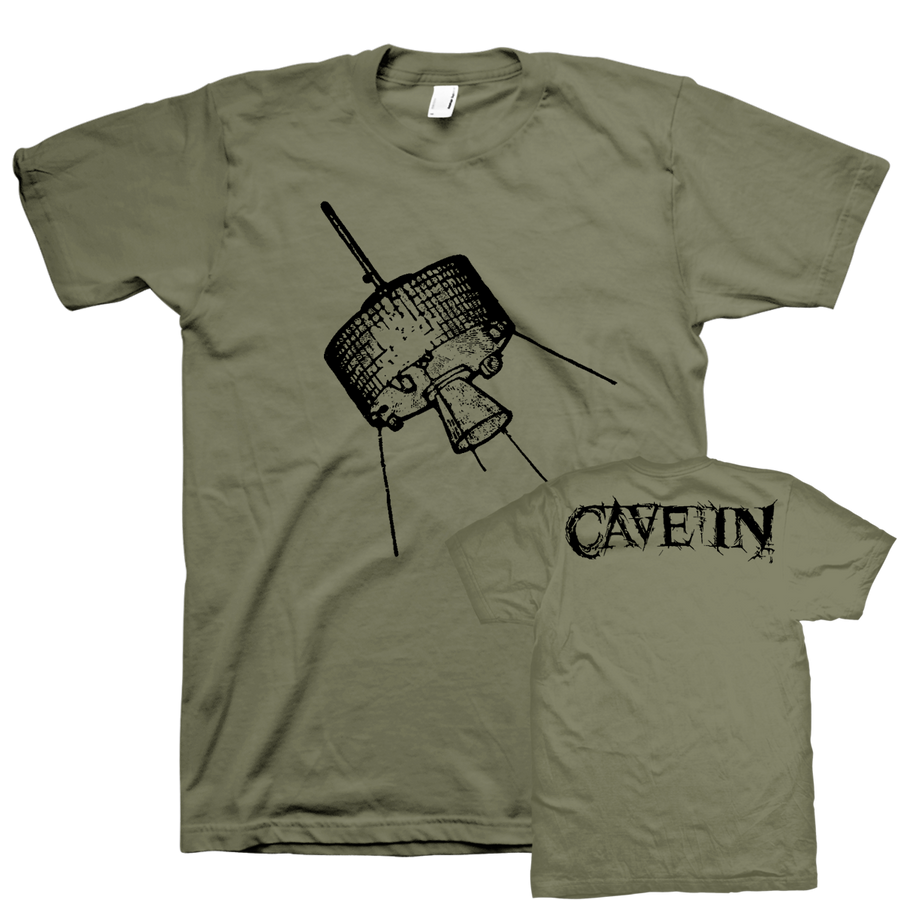 "Cave In ""Satellite"" Green T-Shirt"