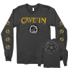 "Cave In ""Yellow Logo"" Grey Longsleeve"
