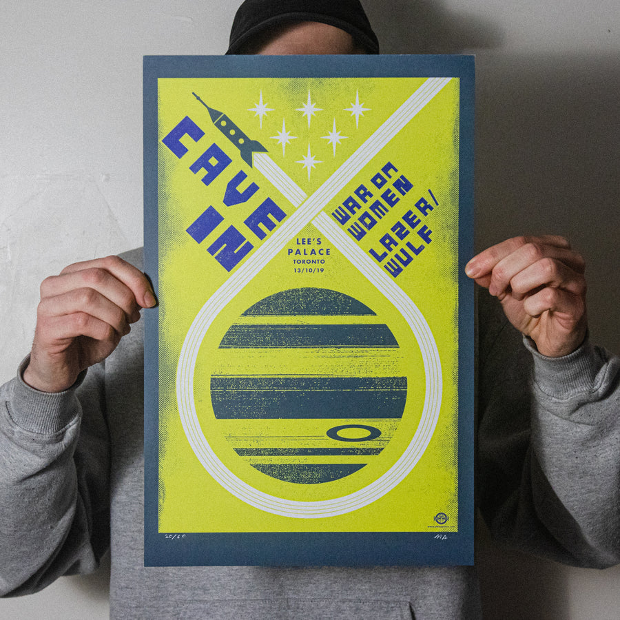 "Cave In ""Toronto 2019"" Screen Print"
