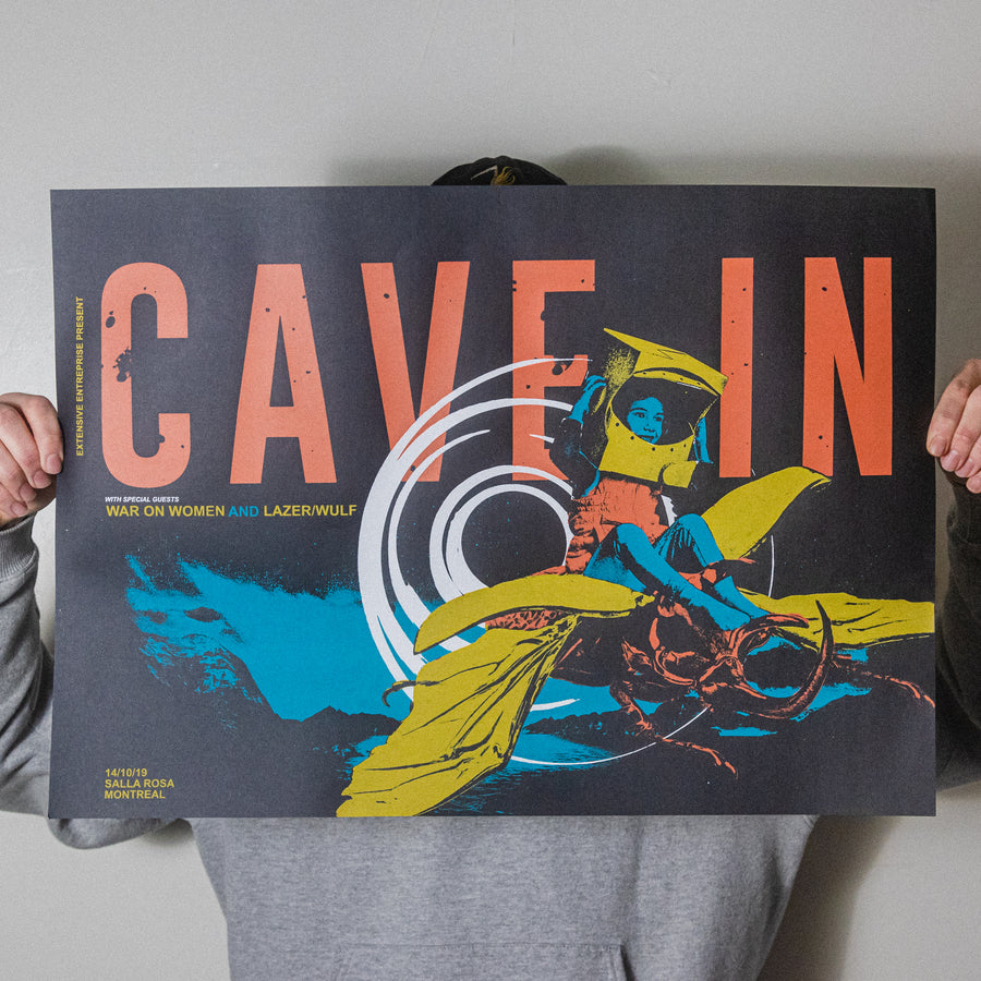"Cave In ""Montreal 2019"" Screen Print"