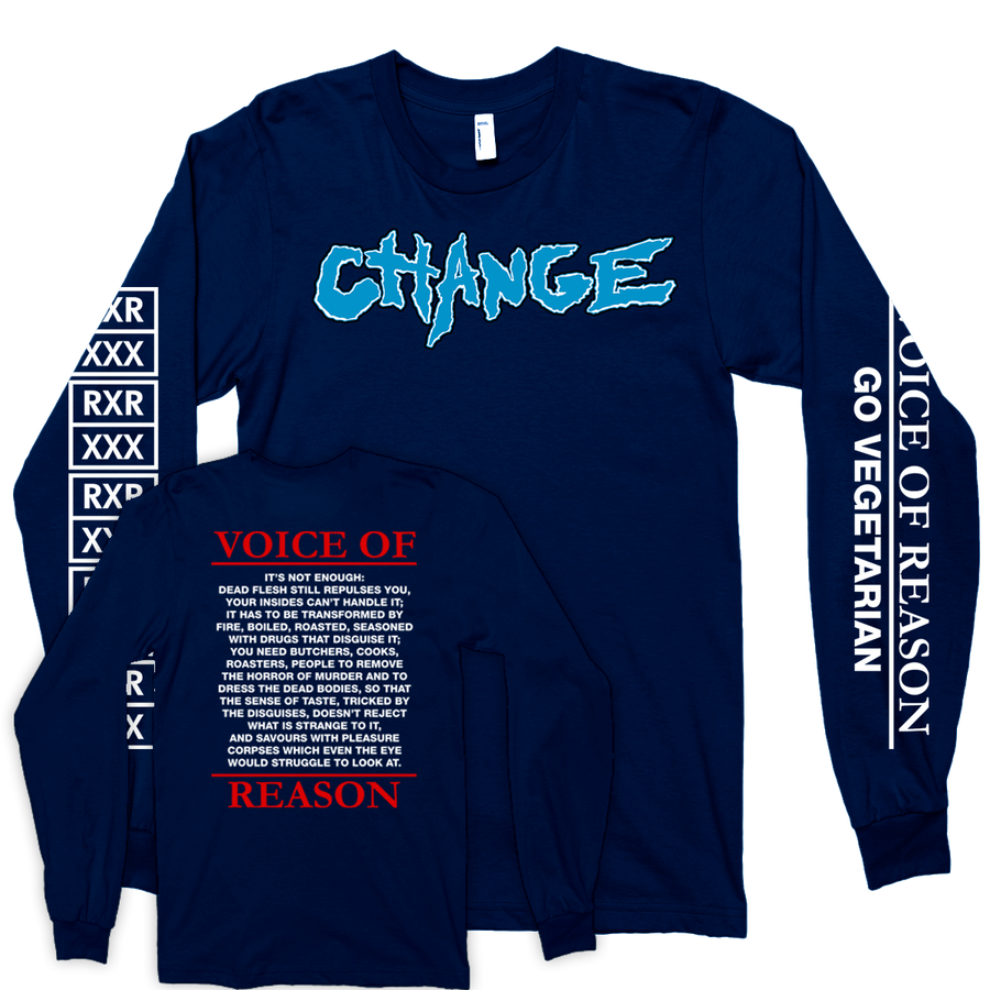 "Change ""Closer Still"" Navy Longsleeve"