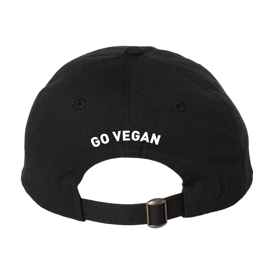 "Change ""Go Vegan"" Black Hat"
