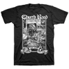 "Church Road ""Logo White"" Black T-Shirt"