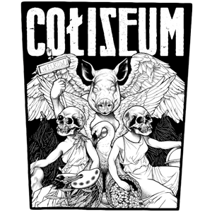 "Coliseum ""Pig God"" Back Patch"