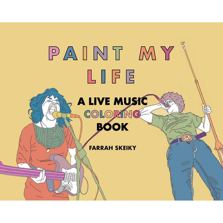 Paint My Life Coloring Book by Farrah Skeiky