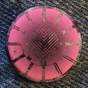 "Converge ""Pink Symbol"" Button"