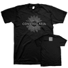 "Constellatia ""The Language Of Limbs"" Black T-Shirt"