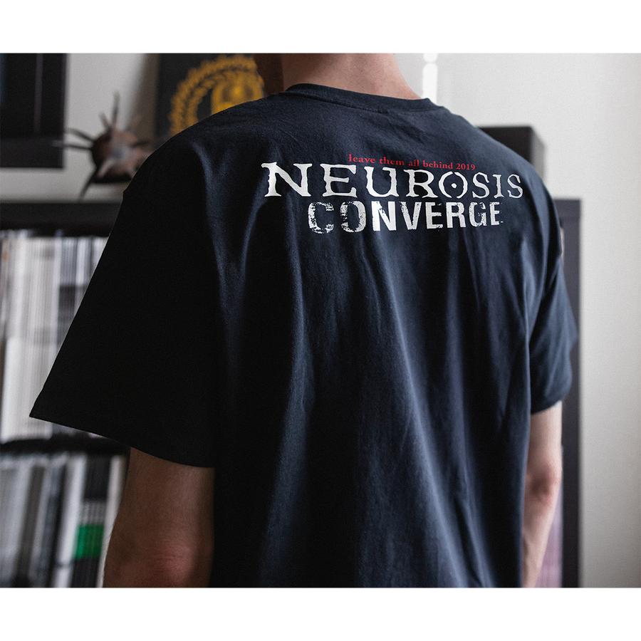 "Neurosis x Converge ""Japanese Mashup"" Imported Black T-Shirt"