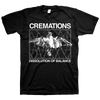 "Cremations ""Bird"" Black T-Shirt"