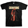 "Cremations ""Monk"" Black T-Shirt"