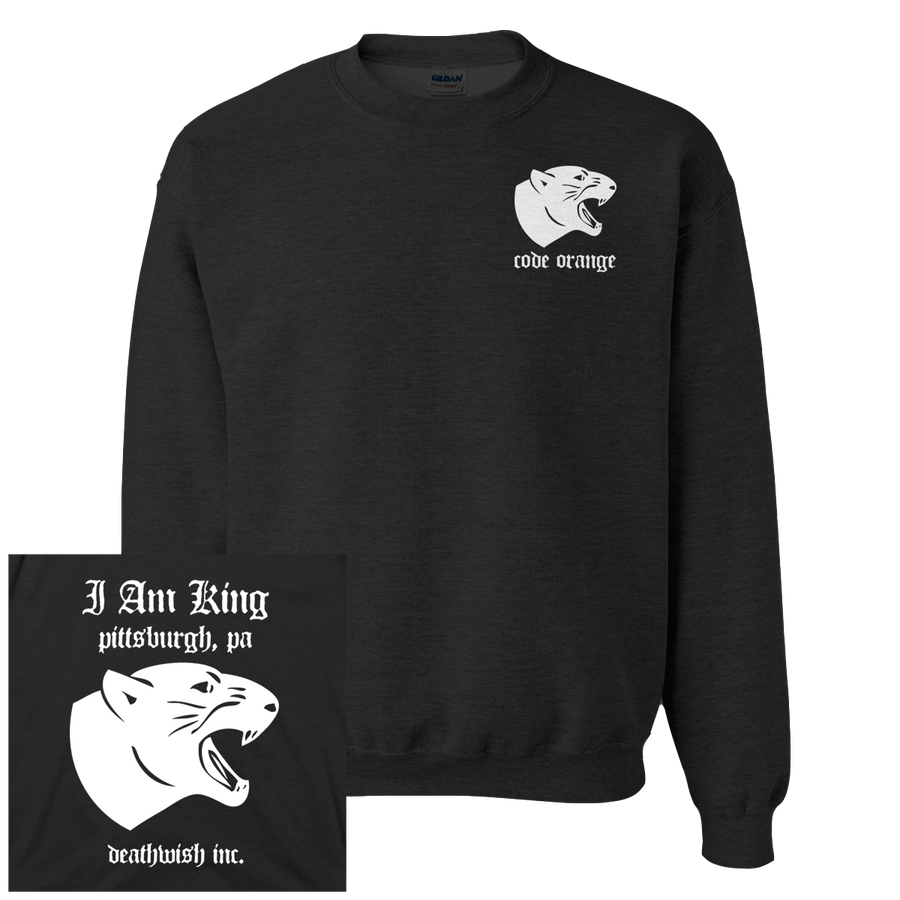 "Code Orange ""Panther"" Crew Neck Sweatshirt"