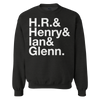 "Deathwish ""Tribute To The Greats"" Black Crew Neck Sweatshirt"