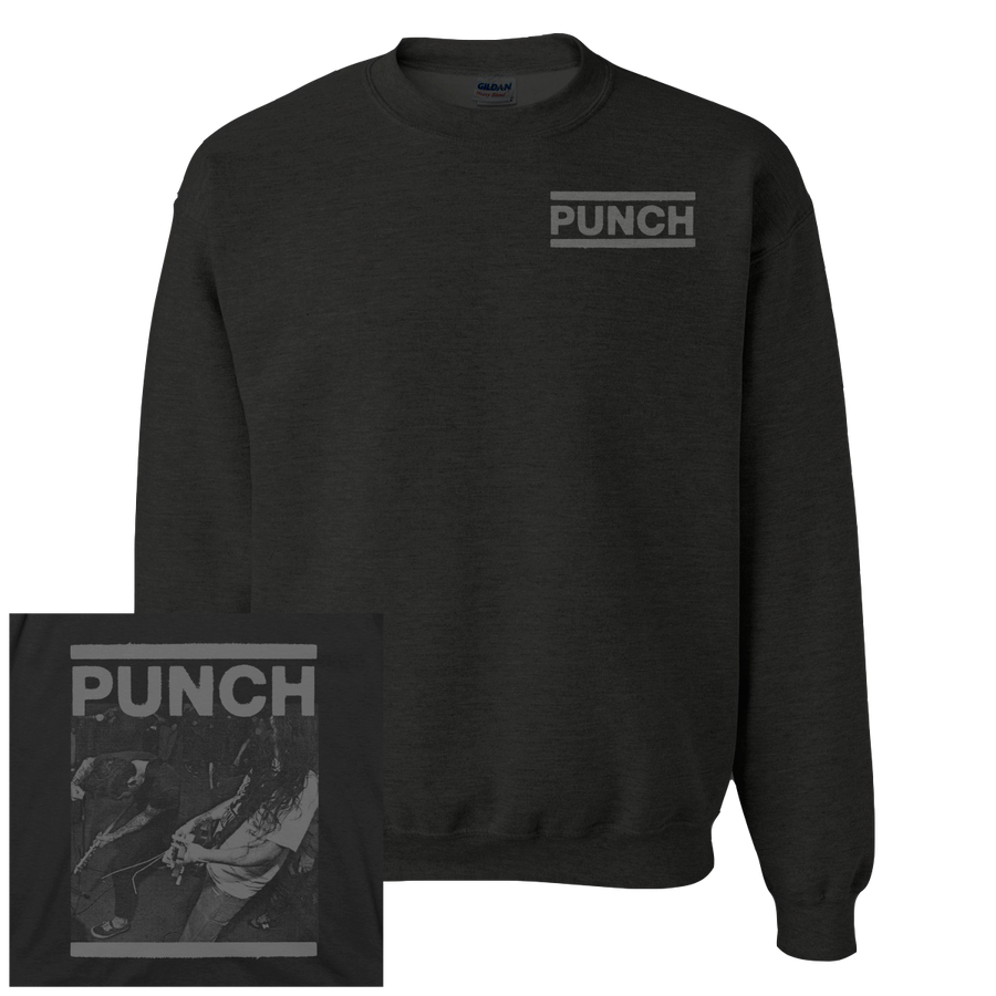 "Punch ""Logo"" Crew Neck Sweatshirt"