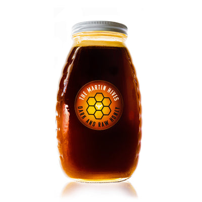 "The Martin Hives Honey Co. ""Raw & Dark Connecticut Honey"""