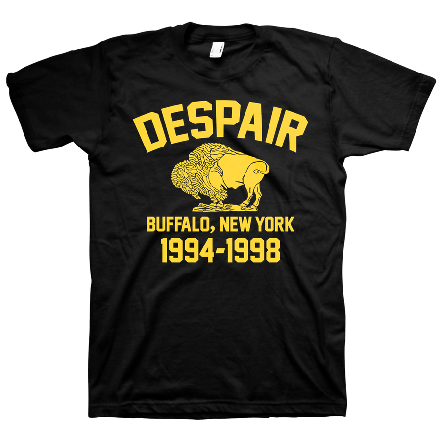 "Despair ""Buffalo Hardcore"" Black T-Shirt"