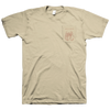 "Downstaaiirs ""Scrotum Pocket"" Tan T-Shirt"