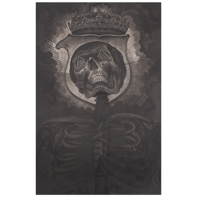 "Doomriders x Thomas Hooper ""Darkness Come Alive"" Giclee Print"